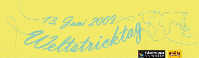 Weltstricktag Banner