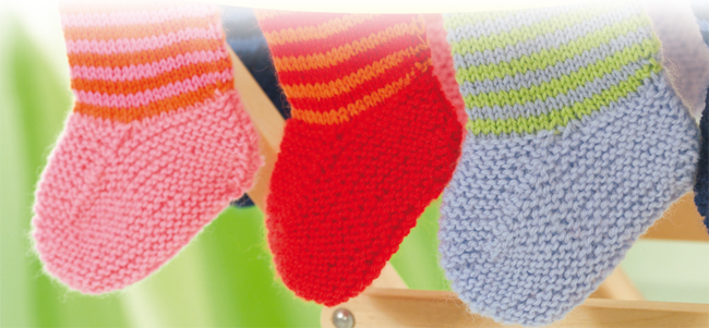 Weltstricktag Socken