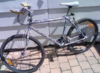 Decopatch Fahrrad