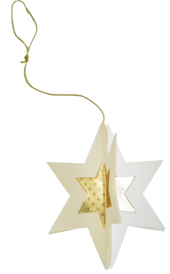 3d weihnachtssterne f r den weihnachtsbaum buttinette blog. Black Bedroom Furniture Sets. Home Design Ideas