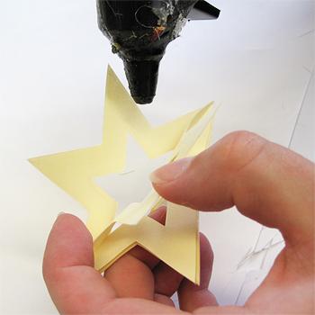 3D Weihnachtsstern Schritt 4
