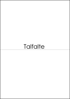 Talfalte