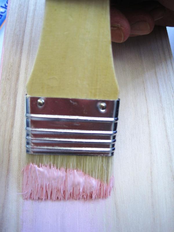 Holzschränkchen Schritt 1