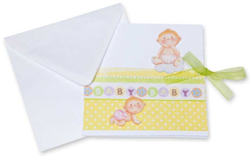 Geburtskarten selber basteln buttinette blog for Geburtskarten selber basteln
