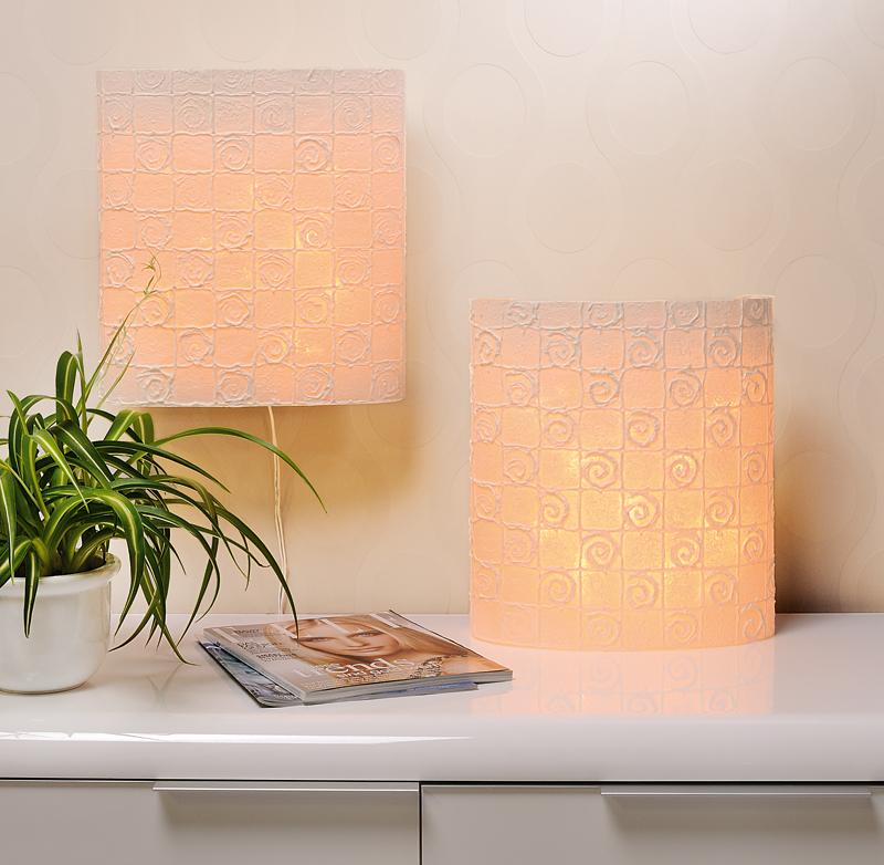 selbstgebastelte lampe aus mulberrypapier buttinette blog. Black Bedroom Furniture Sets. Home Design Ideas