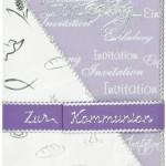 Einladungskarte zur Kommunion