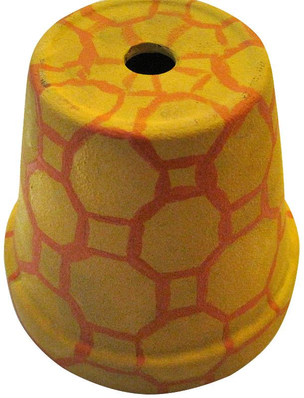 Tontopf-Mobile Bienen Schritt 2