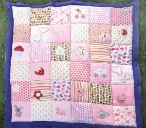Melanie S Tasche Und Babydecke Im Patchwork Design