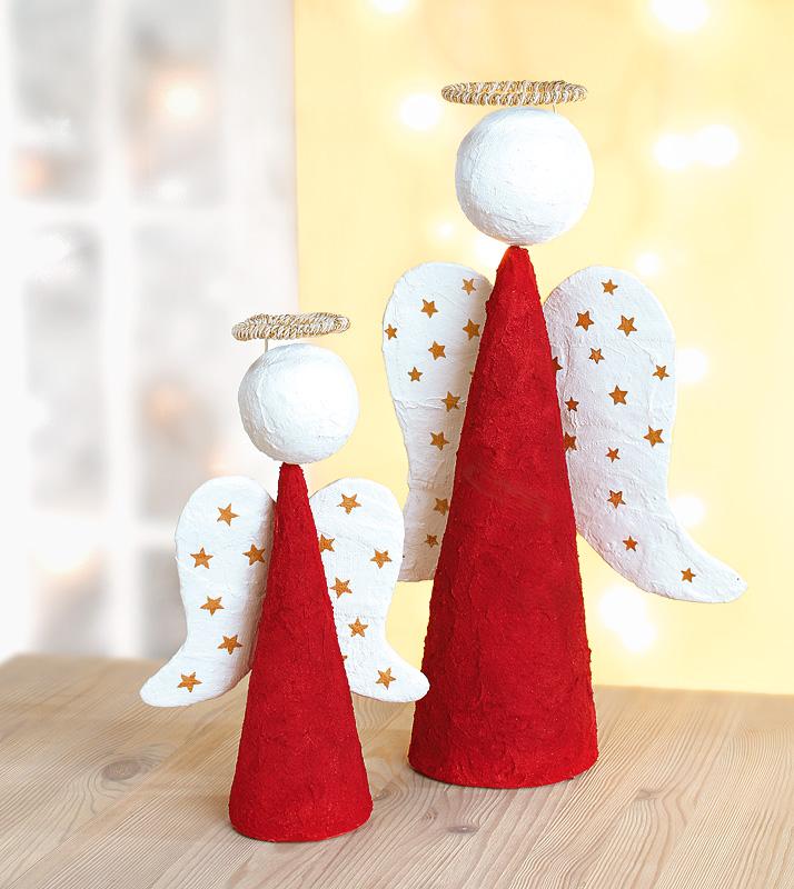 Bastelanleitung korkenengel buttinette blog - Weihnachtsengel basteln ...