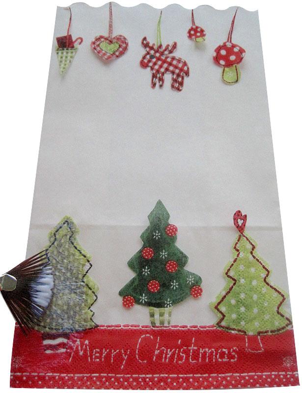 Weihnachtliche Lichttüten Schritt 3