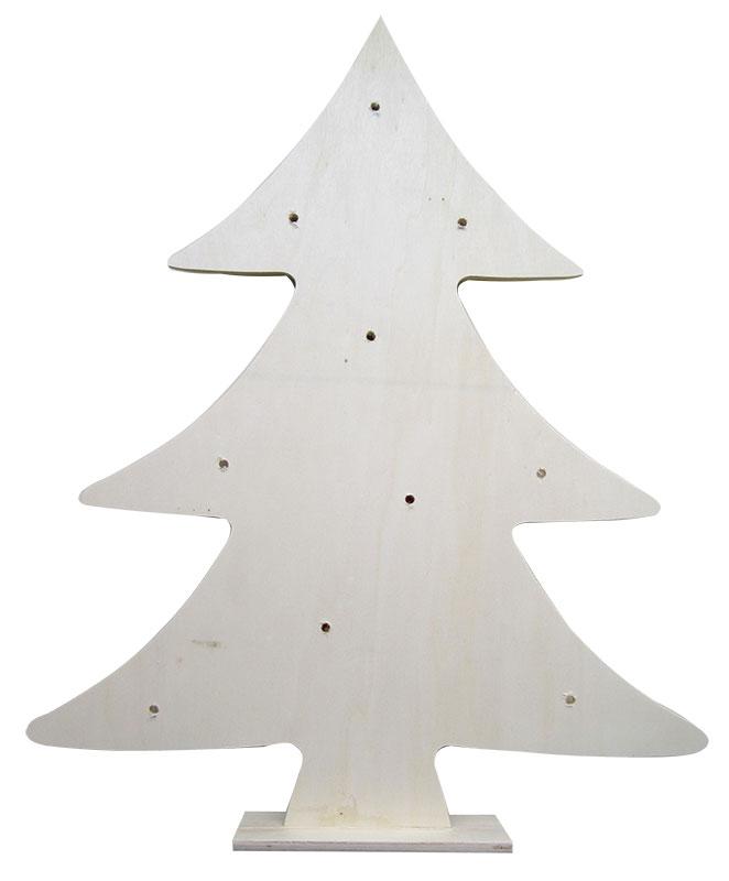 Beleuchtete Weihnachtsbäume Schritt 1
