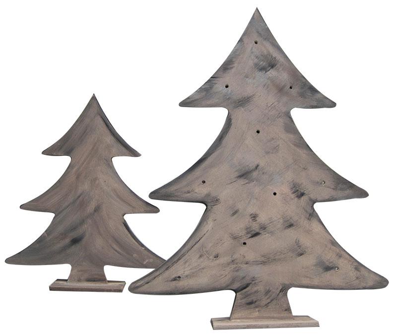 Beleuchtete Weihnachtsbäume Schritt 3