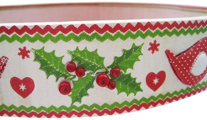 Tablett 3D Weihnachtsmotiv Schritt 15