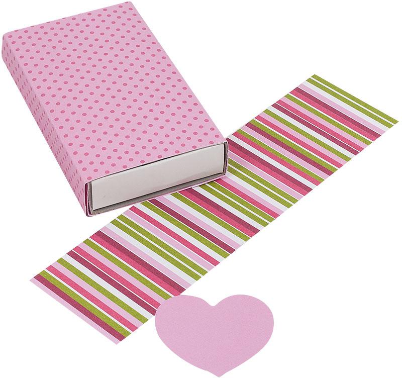 Schachtel Valentinstag basteln Schritt 7