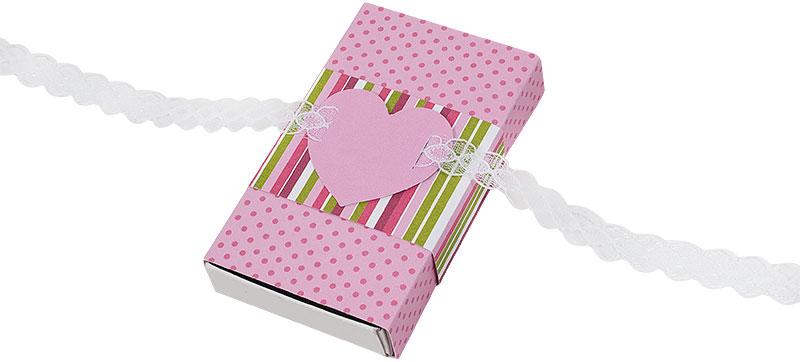 Schachtel Valentinstag basteln Schritt 8