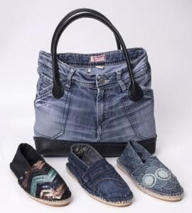 Espadrilles im Jeans-Look