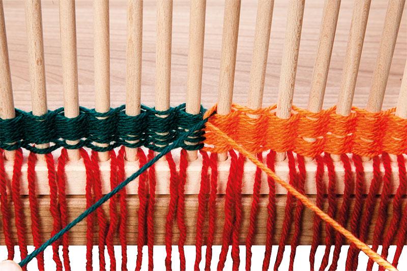 ProduktTipp Weben mit dem StäbchenWebrahmen