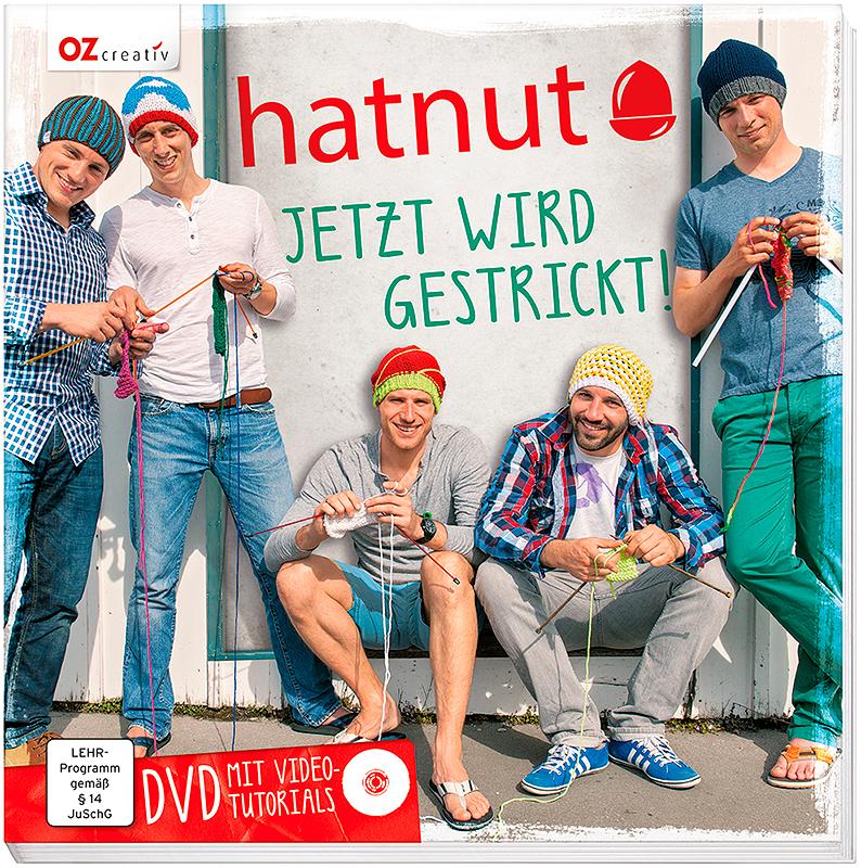 """Buch """"hatnut - Jetzt wird gestrickt"""""""