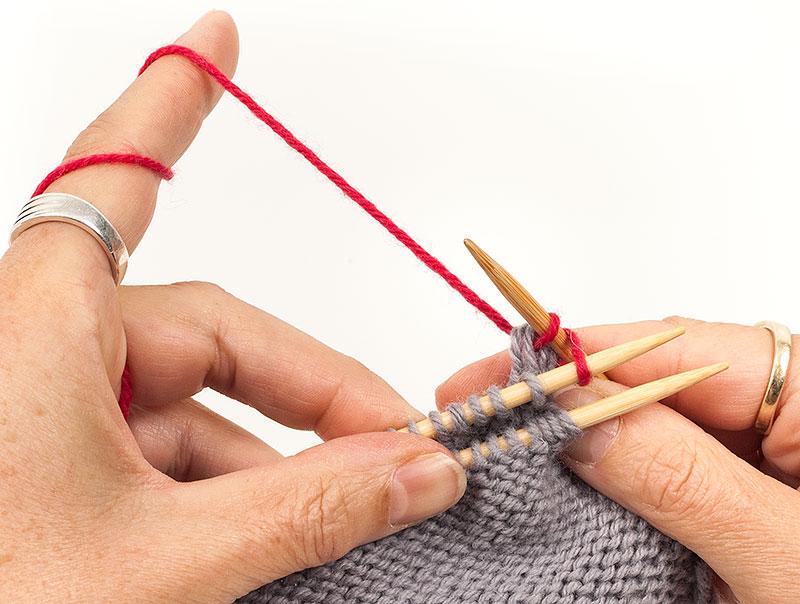 Strickteile Verbinden Teil 1 Zusammenstricken Und Gemeinsam Abketten
