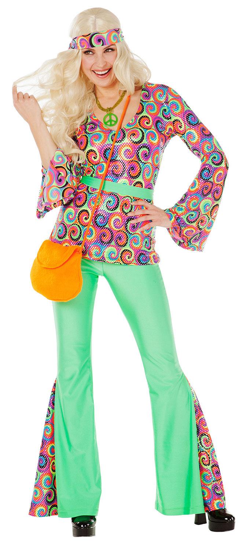 Hippie Kostümideen zum selber nähen