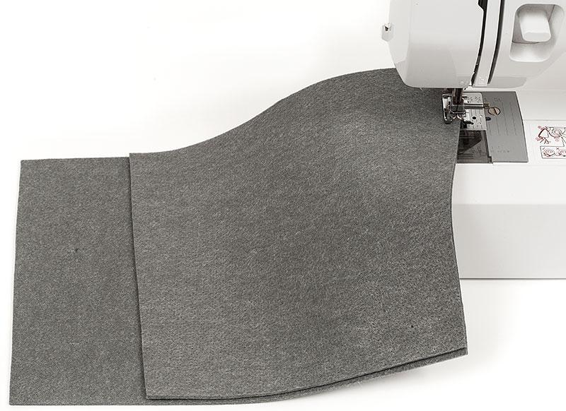 kostenlose anleitung praktischen filzkorb selber n hen. Black Bedroom Furniture Sets. Home Design Ideas