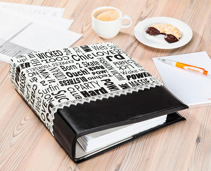 kostenlose anleitung ordnerh lle aus wachstuch n hen buttinette blog. Black Bedroom Furniture Sets. Home Design Ideas