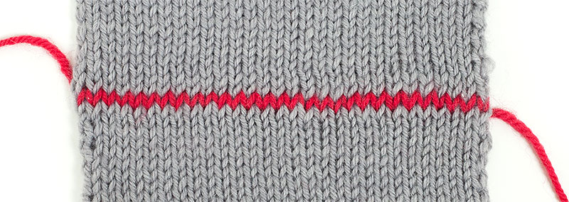 Strickteile Verbinden Teil 2 Im Maschenstich Glatt Rechte Teile