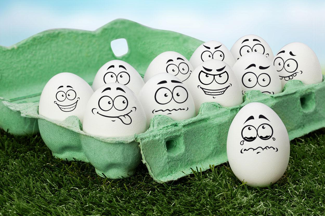 produkt tipp h kelspa mit funny eggs. Black Bedroom Furniture Sets. Home Design Ideas
