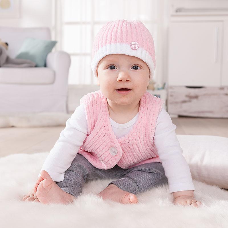 Babyjacke und Mütze häkeln
