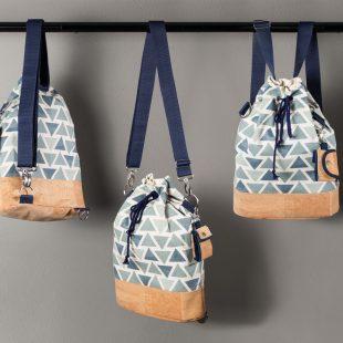 anleitung wandelbare rucksacktasche mit korkstoff n hen buttinette blog. Black Bedroom Furniture Sets. Home Design Ideas