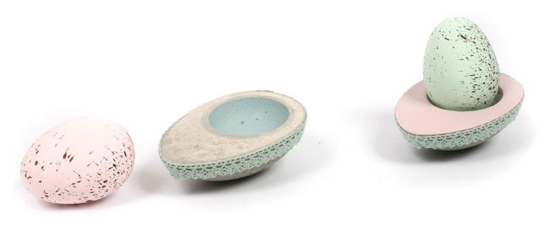 bastelanleitung beton eierbecher. Black Bedroom Furniture Sets. Home Design Ideas