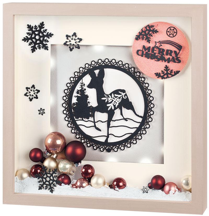 Anleitung: beleuchtetes Weihnachtsbild selber machen - buttinette Blog