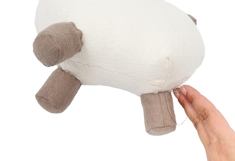 Anleitung: Süßes Lama aus Molton nähen - buttinette Blog