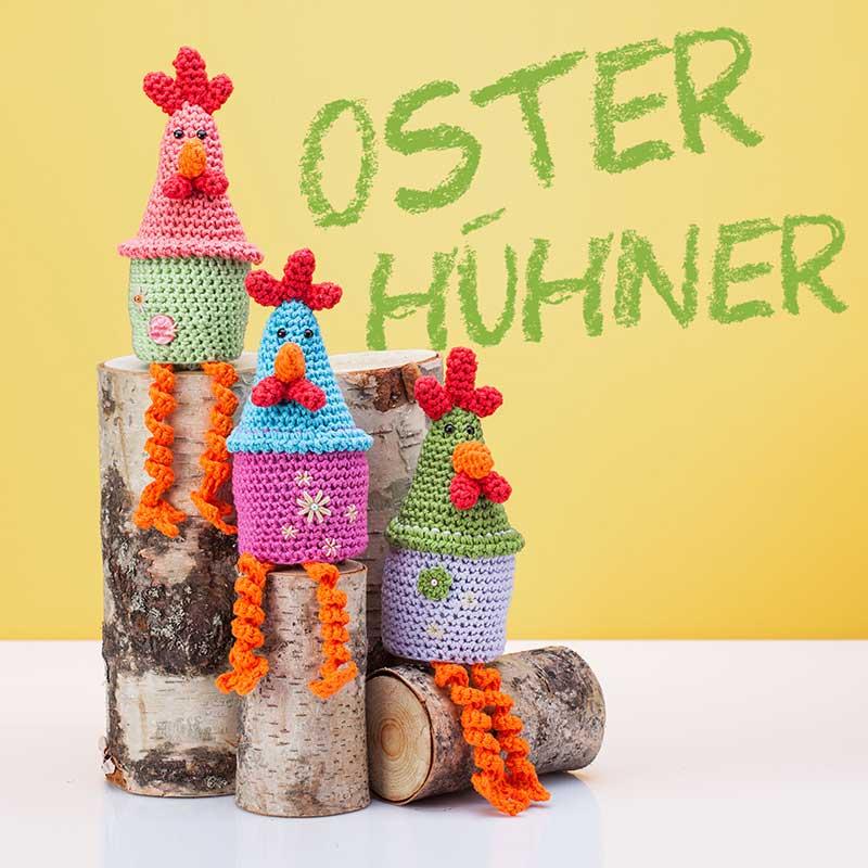 Anleitung Lustige Osterhühner Häkeln Buttinette Blog