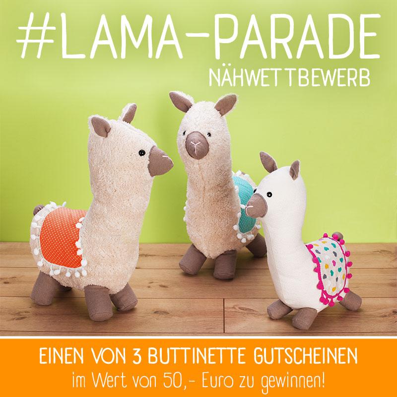 #Lama-Parade Nähwettbewerb SChmuckbild