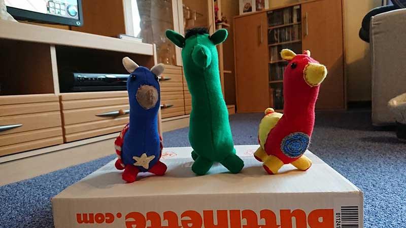 lamaparade gewinner avengers lamas