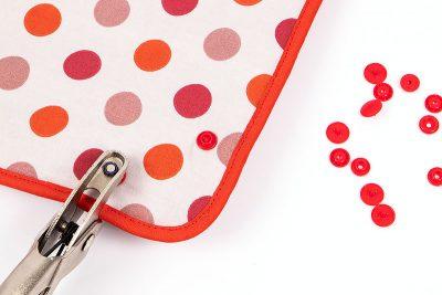 Schüsselnest - Colorsnaps einarbeiten