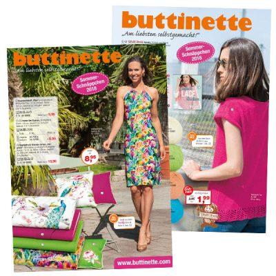 buttinette Sommerschnäppchen 2018