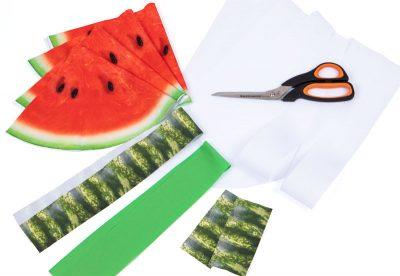 Melonentasche - Schritt 1