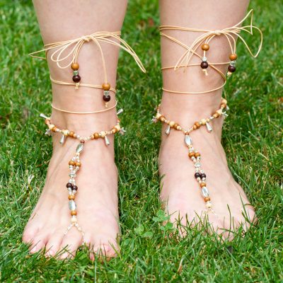 Barfuß-Sandalen - Schmuckbild