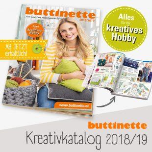 Der Neue Buttinette Kreativkatalog 201819 Ist Da