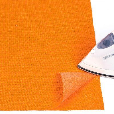 Rupfentischsets mit Glasuntersetzer - Schritt 3