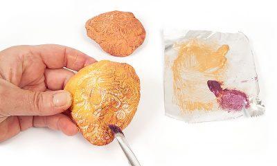 Pilze aus Modelliermasse - Schritt 8