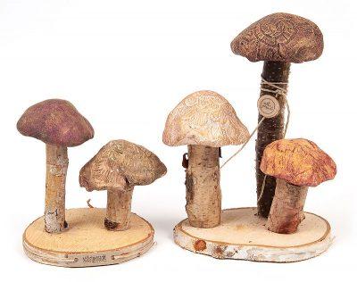Pilze aus Modelliermasse - Schritt 11