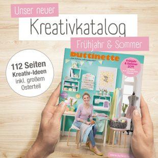 buttinette Kreativkatalog Frühjahr & Sommer 2019
