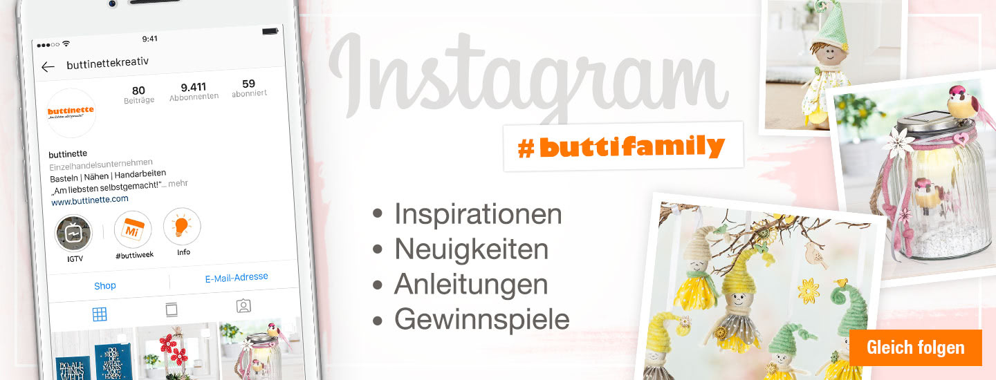 buttinette auf Instagram