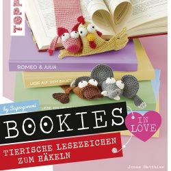 Bookies in love - Tierische Lesezeichen zum Häkeln