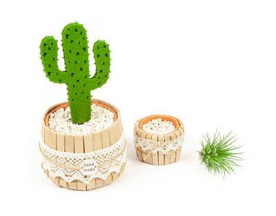 Kaktus Dekoration selber machen - Schritt 6