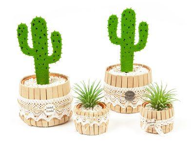 Kaktus Dekoration selber machen - Schritt 7