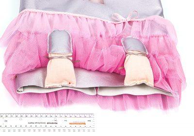 Turnbeutel für Ballerinas - Schritt 22